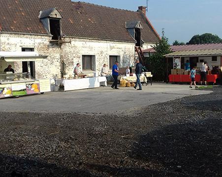 La ferme du Clos de Terre Neuve ferme laitière à Douai